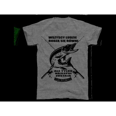 Koszulka najlepsi zostają wędkarzami