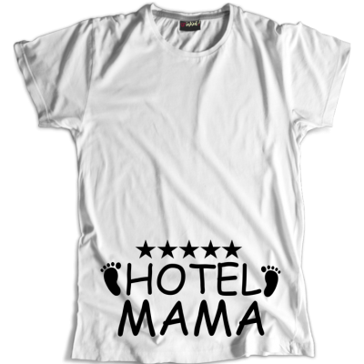 Koszulka Ciążowa Hotel MAMA