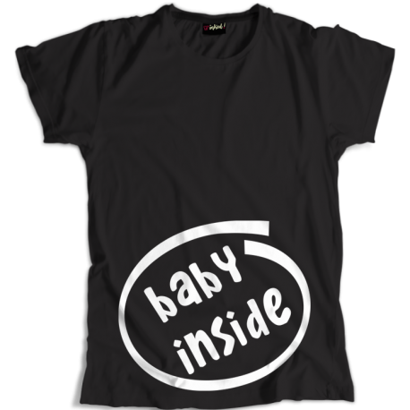 Koszulka Ciążowa Baby Inside