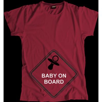 Koszulka Ciążowa Baby on Board
