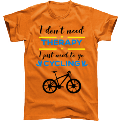 Koszulka rowerowa terapy